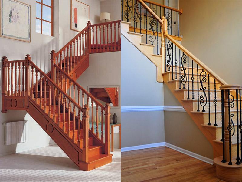 Индивидуальные комбинированные лестницы |