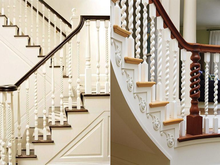 Красивые деревянные лестницы: фото подборка интерьеров